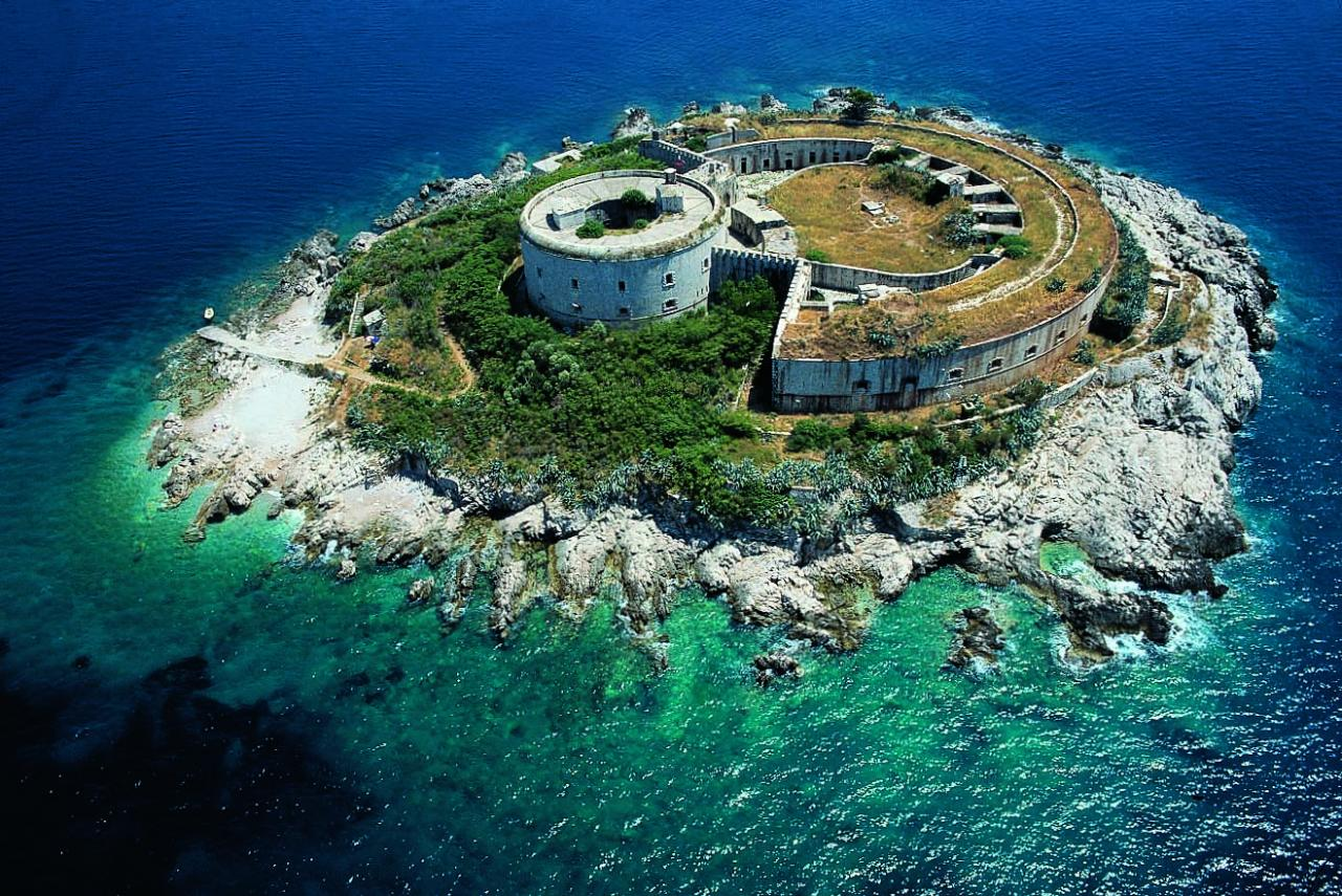 Where Is Mamula Island