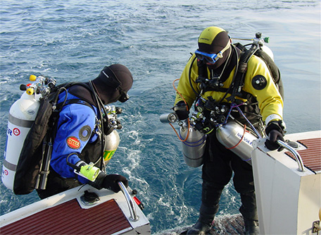 Chezh Team, technical-diving